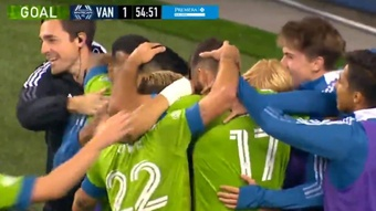 Seattle Sounders goleó 4-1 a Vancouver Whitecaps. Twitter/MLS