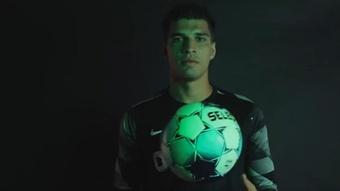 Joao Virgínia ocupará el hueco de Luís Maximiano. Twitter/Sporting_CP