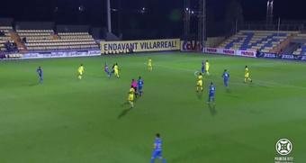 El Villarreal B bate al Andorra y sigue invicto. Captura/Footters