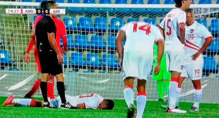 Andorra y Gibraltar empataron sin goles. Captura/DAZN
