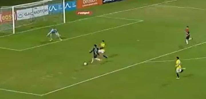 Palestino y Everton tomaron ventaja en los cuartos de final. Captura/TNTSports