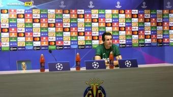 Emery analizó al United, su próximo rival de Champions. Captura/VillarrealCFTV