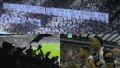 La banderole des supporters de Newcastle après le rachat du club. Captures/DAZN