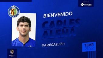 Barça vende Aleñá ao Getafe. Twitter/GetafeCF