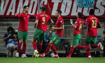 Portugal superó a Luxemburgo en la clasificación para el Mundial. AFP