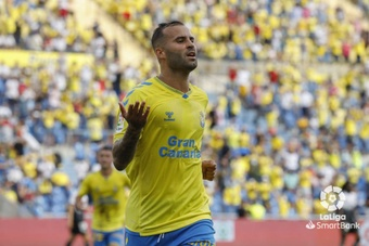 Jesé firmó su mejor partido de la temporada con Las Palmas. LaLiga
