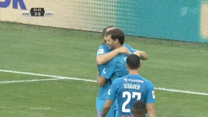 El Zenit se lleva la Supercopa con una goleada. Twitter/zenit_spb