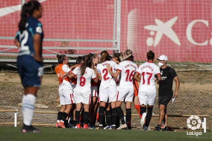 El Sevilla y el Levante empataron a cero. LaLIga