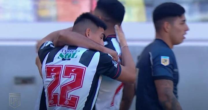 Central Córdoba se llevó el derbi ante Talleres en el añadido. Youtube/LigaProfesionaldeFutbol