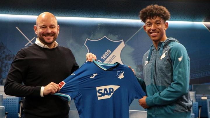 Chris Richards retourne en prêt à Hoffenheim. Hoffenheim
