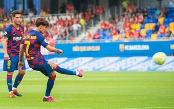 Pique wants Collado for Andorra. Screenshot/FCBarcelona