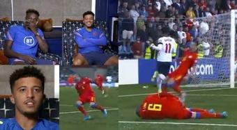 Sancho rompió a Lima y el veterano jugador se lesionó. Capturas/England