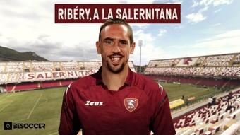 Ribéry signe à la Salernitana. BeSoccer