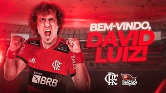 Il Flamengo ha confermato ufficialmente l'acquisto di David Luiz. Flamengo