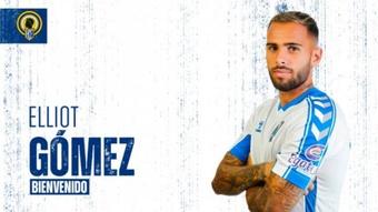 Elliot Gómez (d) jugará este año en el Hércules. HérculesCF