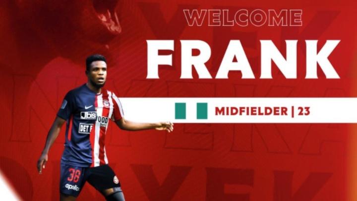 El Brentford refuerza su centro del campo con Frank Onyeka. BrentfordFC