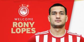 El Olympiacos se guarda una opción de compra. OlympiacosFC