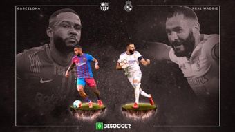 Directo del 'Clásico' Barcelona-Real Madrid. BeSoccer
