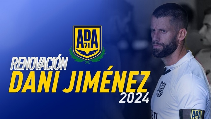 El Alcorcón renueva a Dani Jiménez hasta 2024. ADAlcorcón