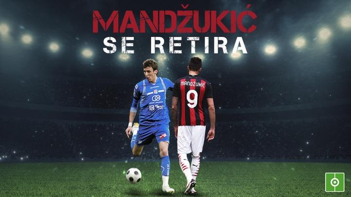 Mario Mandzukic se retira del fútbol. BeSoccer