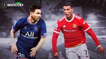 Quem fez mais gols, CR7 ou Messi? veja os números atualizados. BeSoccer Pro