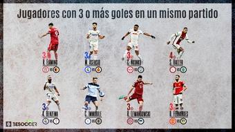Firmino, al club de los jugadores con tres goles o más en un partido de la 21-22. BeSoccer Pro