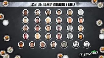 Los 31 futbolistas que jugaron en Real Madrid y Barça. BeSoccer Pro