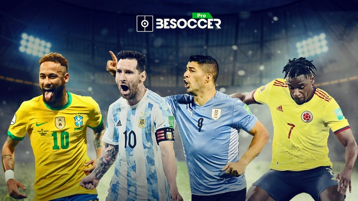 Confira a tabela dos artilheiros da Copa América. BeSoccer Pro