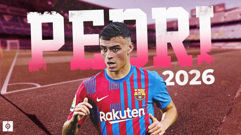 Pedri renueva con el Barça hasta 2026. BeSoccer