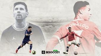 Saiba quem fez mais gols de pênalti entre Lionel Messi e Cristiano Ronaldo. BeSoccer Pro