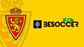 BeSoccer Pro will be Real Zaragoza's compass until 2022. BeSoccer Pro