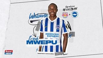 El Brighton se hace con Enock Mwepu. Brighton&HoveAlbion