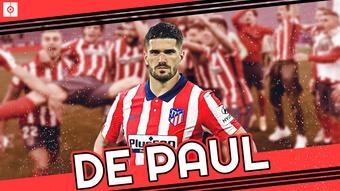 Rodrigo de Paul is an Atletico Madrid player. BeSoccer