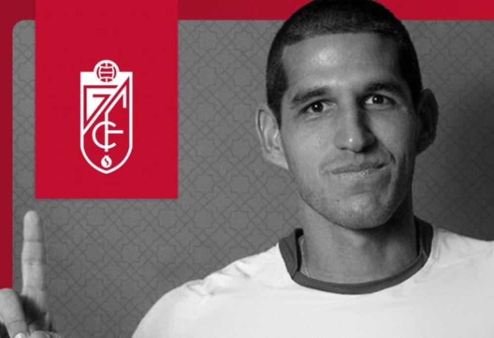 Luis Abram, nuevo jugador del Granada. Twitter/GranadaCdeF