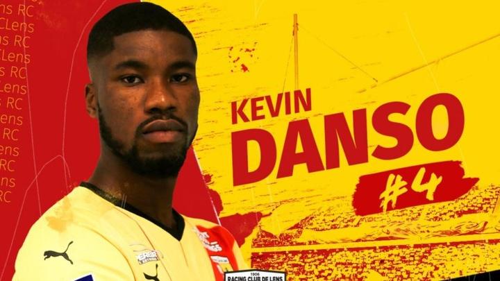 Kevin Dason, nuevo jugador del Lens. Twitter/RCLens