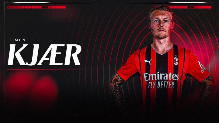 Kjaer renueva con el Milan. ACMilan
