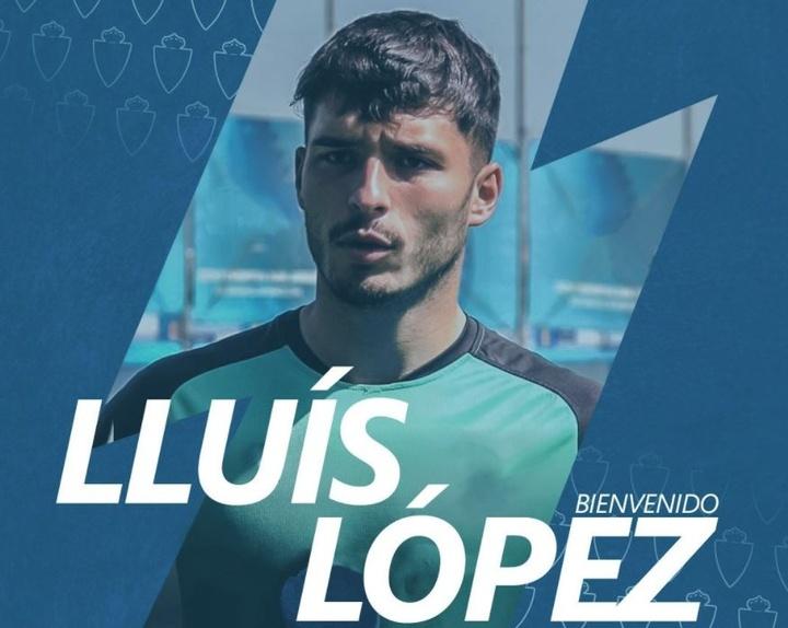 Lluís López, nuevo jugador del Zaragoza. Twitter/RealZaragoza