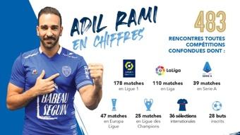 Un campeón del mundo para el Troyes: Rami, de vuelta a la Ligue 1. Twitter/estac_officiel