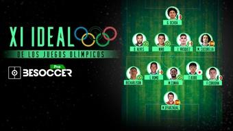 El XI ideal de los Juegos Olímpicos de Tokio 2021. BeSoccer Pro