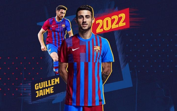 Guillem Jaime regresa al Barça B. Twitter/FCBarcelonaB