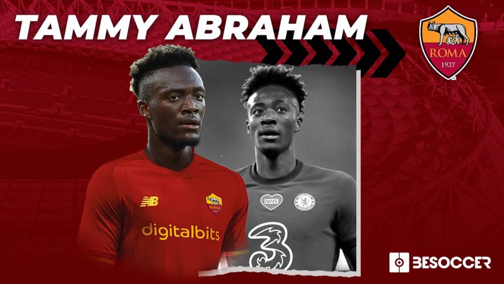 La Roma ha fichado al delantero 'blue' Tammy Abraham. Twitter/ASRoma