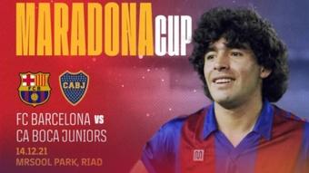 El Barça y Boca jugarán en diciembre la 'Maradona Cup'. FCBarcelona