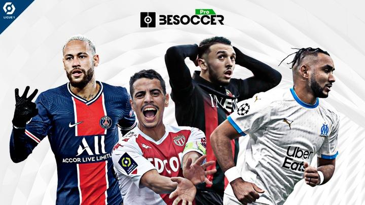 Classement des buteurs de la Ligue 1 2021/2022. BeSoccer Pro