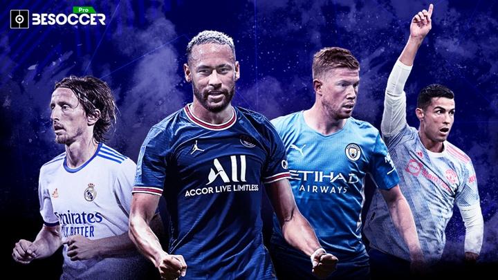 Confira os melhores jogadores de cada partida da Liga dos Campeões. BeSoccer Pro