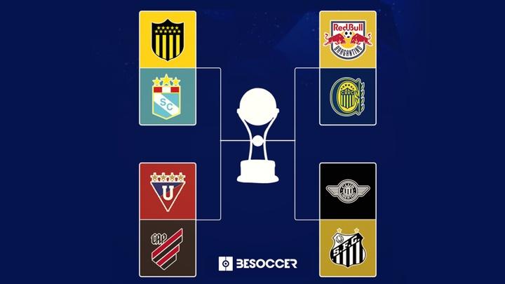 La Copa Sudamericana ya conoce sus cruces de cuartos de final. BeSoccer