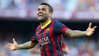 Dani Alves explicó el motivo de su salida del Barcelona. EFE