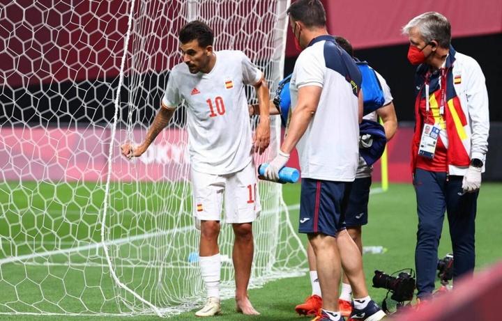 Ceballos absent pour la finale contre le Brésil. EFE