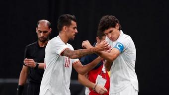 El Madrid cree que Ceballos debió volver a Madrid en cuanto se lesionó. EFE