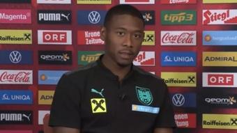 Alaba admitió que se sintieron vacíos tras caer en Champions. Captura/ÖFBTV