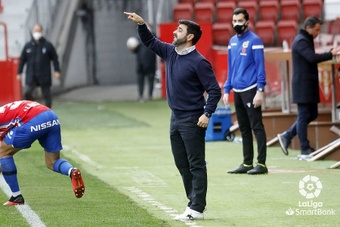 David Gallego elogió al Alcorcón, próximo rival del Sporting. LaLiga